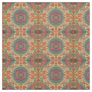 nature mushroom pattern fabric