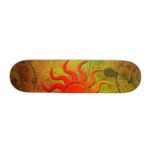 Nature of Sun Skateboard