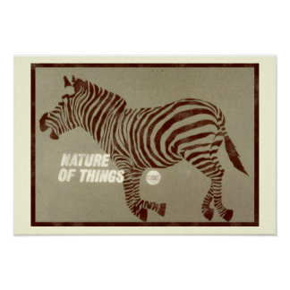 Nature of Things - 1966 promo graphic Poster