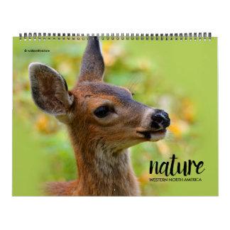 Nature of Western North America Calendar