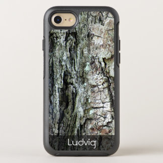 Nature Old Pine Bark Photo any Text OtterBox Symmetry iPhone 8/7 Case