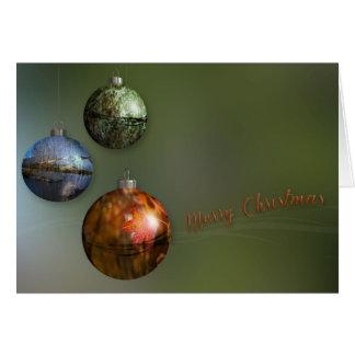 Nature Ornaments Card