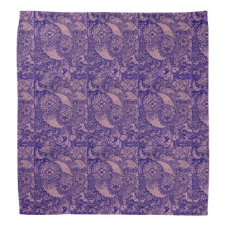 Nature Paisley Designs Bandana