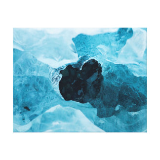 Nature photography |  ice | snow canvas print