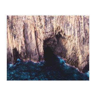 Nature photography    Landscape   Cliff Canvas Print