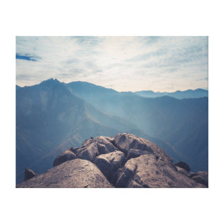 Nature photography |  Landscape | Mountains Canvas Print