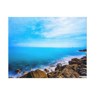 Nature photography    ocean   sky canvas print