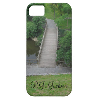 Nature Photography Park Bridge Trees Green iPhone 5 Cover