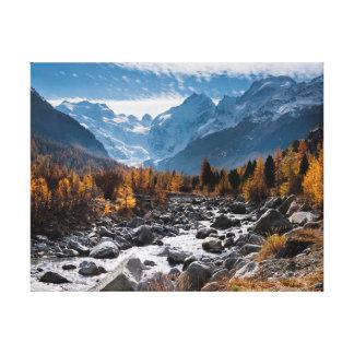 Nature photography |  River | Landscape Canvas Print