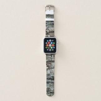 Nature Pine Tree Bark Apple Watch Band