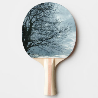 Nature Ping Pong Paddle, Red Rubber Back Ping Pong Paddle