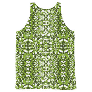 Nature Print Pattern All-Over Print Singlet