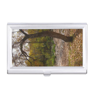Nature Reaching Out Business Card Holder