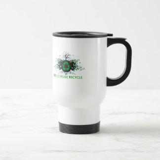 Nature Recycles Travel Mug