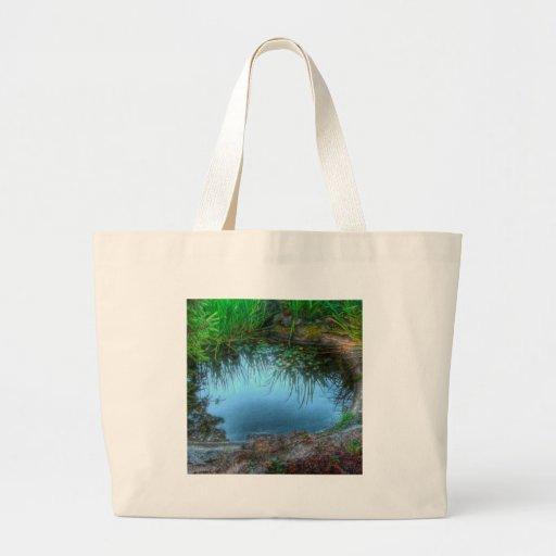 Nature Reserve Lily Pond Canvas Bag