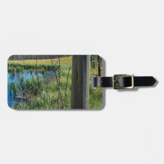 Nature Reserve Wilderness Water Hole Tag For Bags