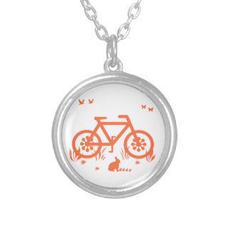 Nature Ride Silver Plated Necklace