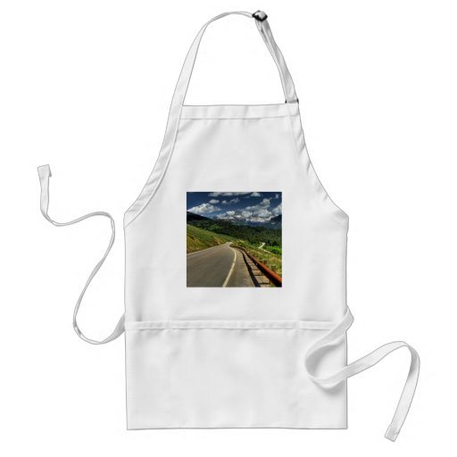 Nature Road Mountian Valley Aprons