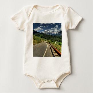 Nature Road Mountian Valley Baby Bodysuit