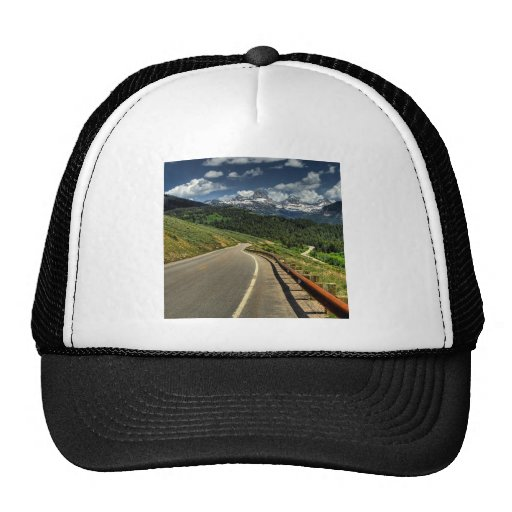 Nature Road Mountian Valley Trucker Hat