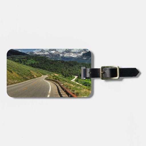 Nature Road Mountian Valley Bag Tags