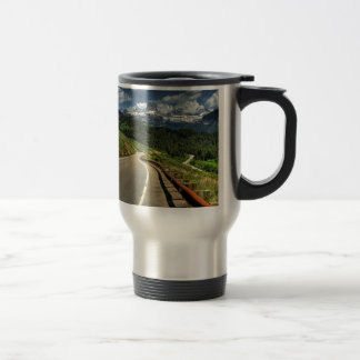 Nature Road Mountian Valley Mugs