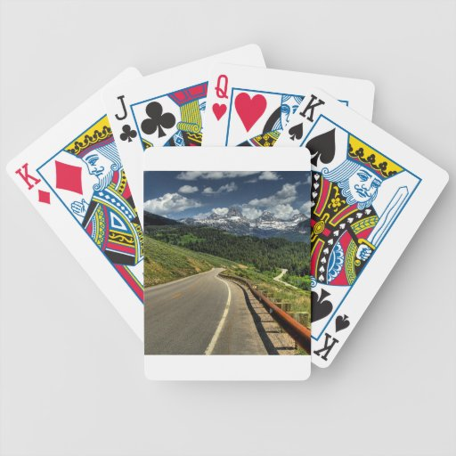 Nature Road Mountian Valley Bicycle Card Deck