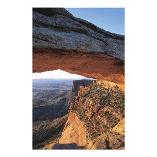 Nature Rocks Mountain View Rock Climbing Stationery