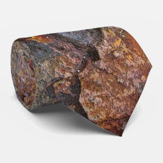 Nature Sedementary Rock Texture Tie