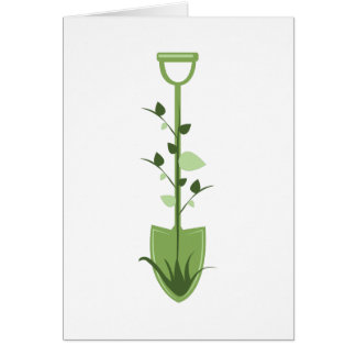 Nature Shovel Greeting Card