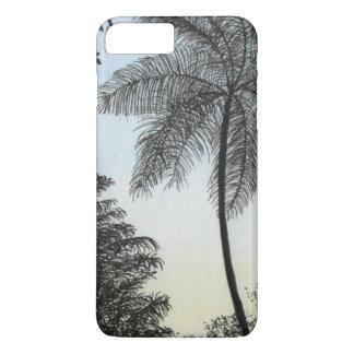 Nature silhuette iPhone 7 plus case