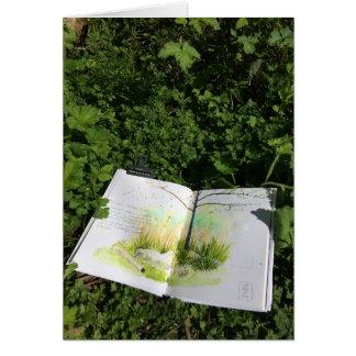 Nature Sketchbook Card