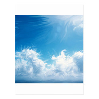 Nature Sky Blue Visions Post Cards