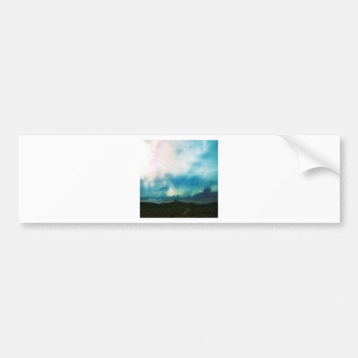 Nature Sky Sunlit Darkness Bumper Sticker
