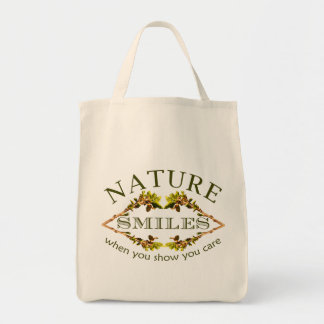 Nature Smiles Tote Bag