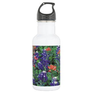 Nature Spring Flower Purple Spring 532 Ml Water Bottle