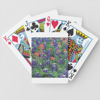 Nature Spring Flower Purple Spring Bicycle Playing Cards