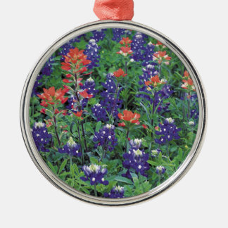 Nature Spring Flower Purple Spring Silver-Colored Round Decoration