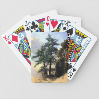 Nature Study Trees Newburgh - Durand Bicycle Playing Cards