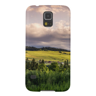 Nature Sunset Hills Landscape In Poland Galaxy S5 Cases