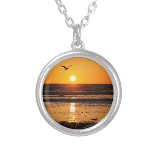 Nature Sunset Ocean Boulevard Necklace