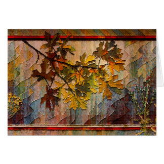 Nature Tapestry 1997 Card
