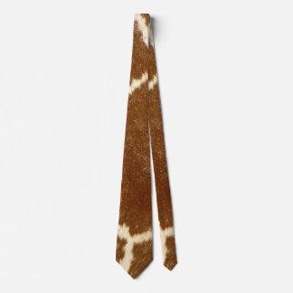 Nature Textured Photo Giraffe Animal Print Pattern Tie