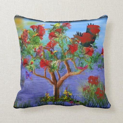 Nature Tree Art American MoJo Pillow