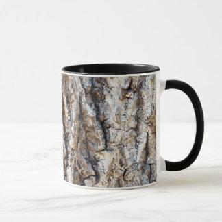 Nature Tree Bark Combo Black and White Mug
