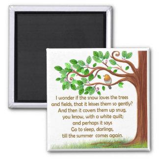 Nature Tree Unique Poem Magnet