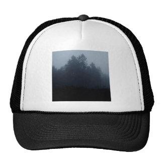 Nature Trees Fog Woods Trucker Hat