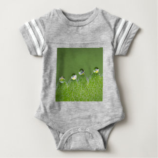 Nature Water Drops Connect with Cosmic Baby Bodysuit