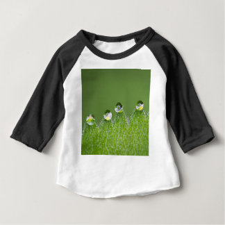 Nature Water Drops Connect with Cosmic Baby T-Shirt