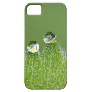 Nature Water Drops Connect with Cosmic Barely There iPhone 5 Case